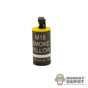 Grenade BBi US WWII Smoke Canister YELLOW