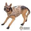 Figure: BBi DEVGRU - K9 Dog w/Goggles & Harness