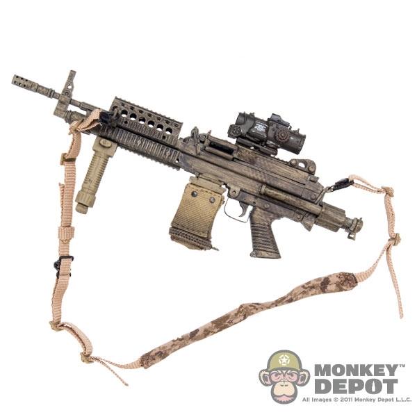 Monkey Depot - Rifle: Toys City Black MK17 MOD 0 CQC