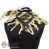 Scarf: BBi Yellowish/Black Shemagh