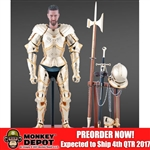Boxed Figure: Brown Art Gothic Armour Gold Version (B-A0001G)
