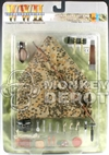Carded Set: Dragon German Camo Zeltbahn & Field Acc. Set 1 (71117)