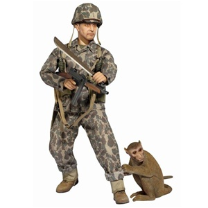 Dragon Charles West USMC w/Monkey 70763
