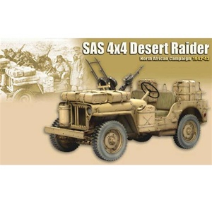Dragon SAS Jeep North African Campaign 71438