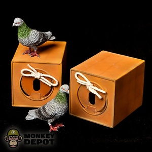 Dragon Cyber Hobby Homing Pigeon w/Cage 71310