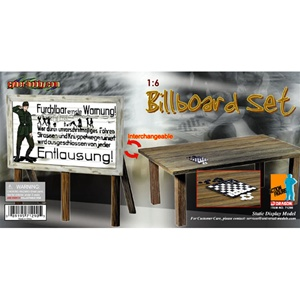 Dragon Cyber Hobby German Billboard Converts to Table 71290