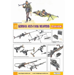 1/6 Model Kit: Dragon 1/6 German Anti-Tank Rifle (75014) UNPAINTED KIT
