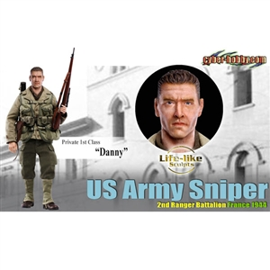 Boxed Figure: Dragon Danny, US Army Sniper Cyber Hobby (73155)