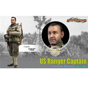"Boxed Figure: Dragon Captain ""Mill"" US Ranger - Cyber-Hobby (73167)"