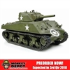Boxed Vehicle: Dragon 1/6 M4A3 Sherman 105mm Howitzer Tank UNPAINTED KIT (75046)