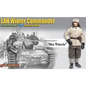"Dragon Cyber Hobby ""Max Wunsche"" LAH Winter Commander (With Card) (70759)"