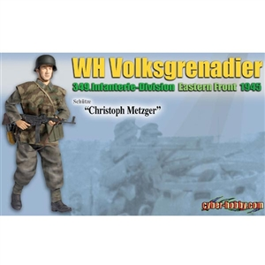 "Dragon Cyber Hobby ""Christoph Metzger"" WH Volksgrenadier (No Card) (70715)"