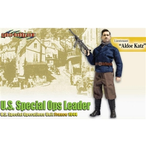 "Dragon Cyber Hobby Lieutenant ""Aldoe Katz"" U.S. Special Ops Leader (With Card) (70744)"