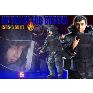 Boxed Vehicle: Cyber Hobby RHKP EOD Bureau -Bomb Squad-' Jimmy' (72042)