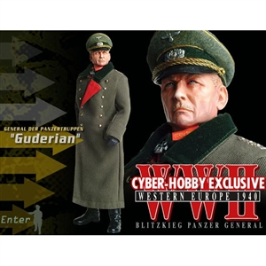 "Boxed Vehicle: Cyber Hobby ""Guderian"" General Der Panzertruppen (70231)"