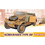 1/6 Model Kit: Dragon 1/6 Kübelwagen UNPAINTED KIT (75003)