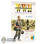 "Boxed Figure: Dragon German Wehrmacht Infantry Private ""Klaus"" (70001)"