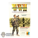 "Boxed Figure: Dragon German Wehrmacht Infantry NCO ""Hans"" (70002)"