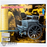 Boxed Vehicle: Dragon WWII German Field Kitchen-Limber (71361)
