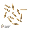 Ammo: Battle Gear Toys US WWII Garand Spent Casings (10 Rounds)