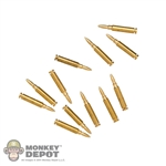 Ammo: Battle Gear Toys US WWII Garand Ammo (12 Rounds)