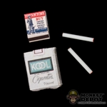 Smokes: Battle Gear Toys Pack Of Kool w/Matchbook