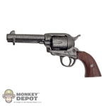 Pistol Battle Gear Toys Colt .45 Peacemaker Brown Grip