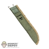 Sheath: Battle Gear USMC Machete Sheath (OD w/Khaki Trim)