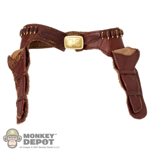Belt: BBK Brown Belt w/Holsters