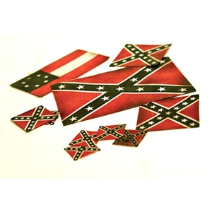 Build-A-Rama 1/32 Confederate Flag Set (Pre-cut and Ready) - BAR278