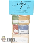 Bragdon 1/2oz. Small 4 Color Weathering Set (Old Yeller, Grn Grunge, the Blues & used Brick) (BRE-162)