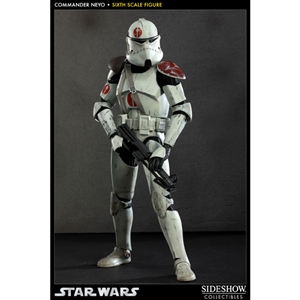 Boxed Figure: Sideshow Star Wars Commander Neyo (2184)