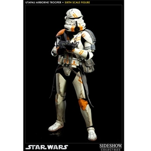 Boxed Figure: Sideshow Star Wars Utapau Airborne Trooper (100008)
