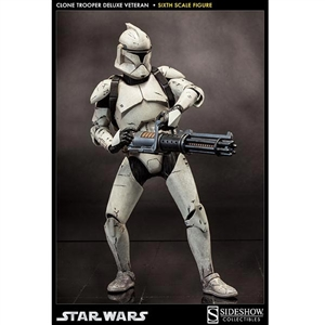 Sideshow Star Wars Clone Trooper Deluxe: Veteran (100206)