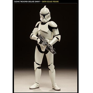 Sideshow Star Wars Clone Trooper Deluxe: 'Shiny' (1002062)