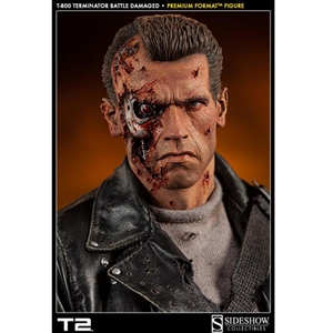 1/4 Premium Format: Sideshow T:800 Terminator Battle Damaged (300109)