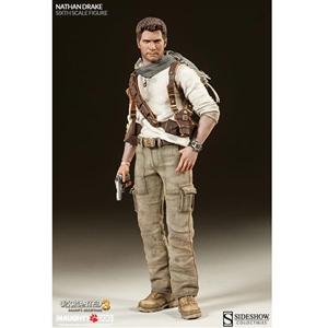Boxed Figure: Sideshow Uncharted 3 - Nathan Drake (100186)