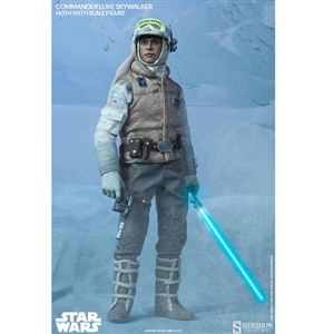 Boxed Figure: Sideshow Star Wars Commander Luke Skywalker Hoth (2159)