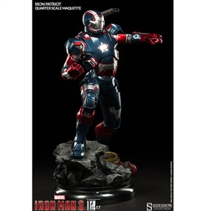 Quarter Scale: Iron Patriot - Quarter Scale Maquette (300370)