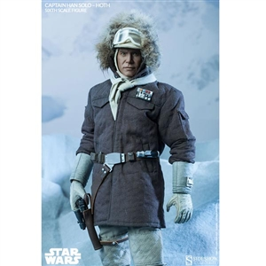 Boxed Figure: Sideshow Star Wars Captain Han Solo - Hoth (2134)