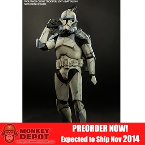 Sideshow Star Wars Wolfpack Clone Trooper: 104th Battalion (100195)
