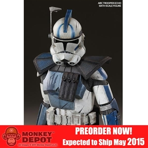 Sideshow Star Wars Arc Clone Trooper: Echo Phase II Armor (100203)