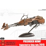 Boxed Vehicle: Sideshow Star Wars Speeder Bike (100121)