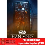 Boxed Figure: Sideshow Han Solo in Carbonite (100310)