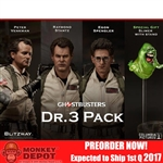 Boxed Figure: Blitzway 1984 Ghostbusters Set Of 3 Doctors (BW-UMS10105)