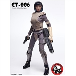 Boxed Figure: Cat Toys Motoko Female Collectible Figure (CAT-006)