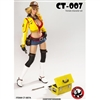 Outfit Set: Cat Toys Handywoman Character Set in Yellow (CAT-007A)