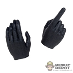 Hands: CraftOne Black Molded Pointing Hands