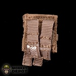 Pouch: Crazy Dummy Pistol Magazine Coyote MOLLE