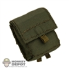 Pouch: Crazy Dummy SAW 100 Round Green MOLLE